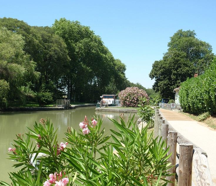 Écluse d'Encassan, Midi Canal, France