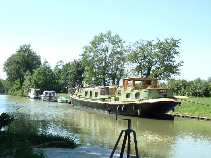 Écluse de la Mediterranee, Midi Canal, France