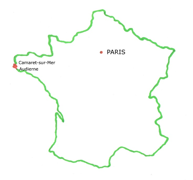 Where is the coast of Brittany in France