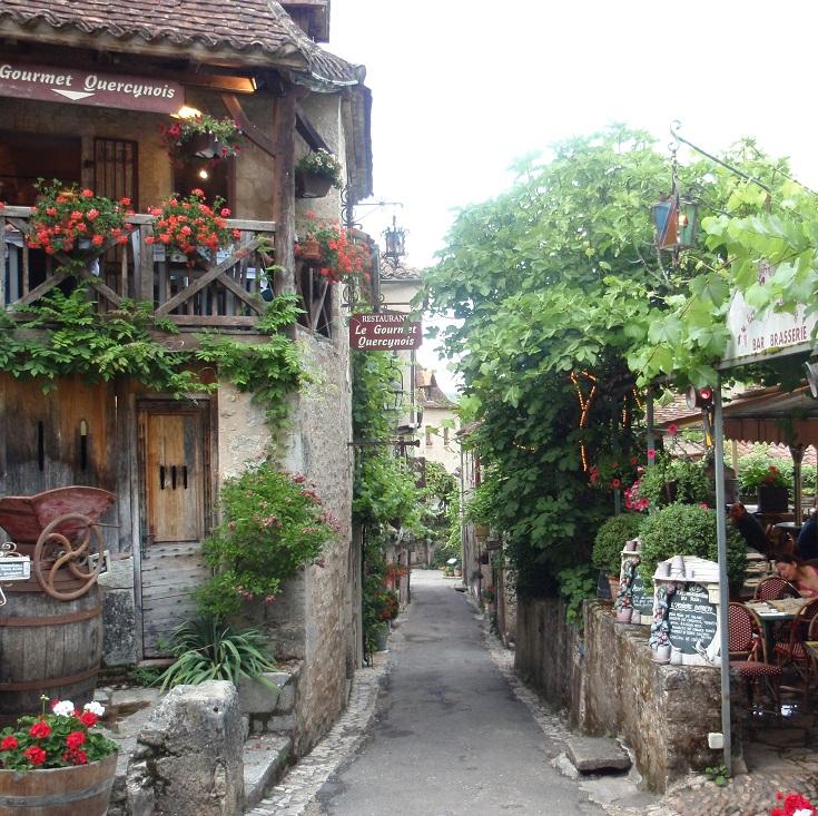 Le Gourmet Quercynois, Saint-Cirq-Lapopie