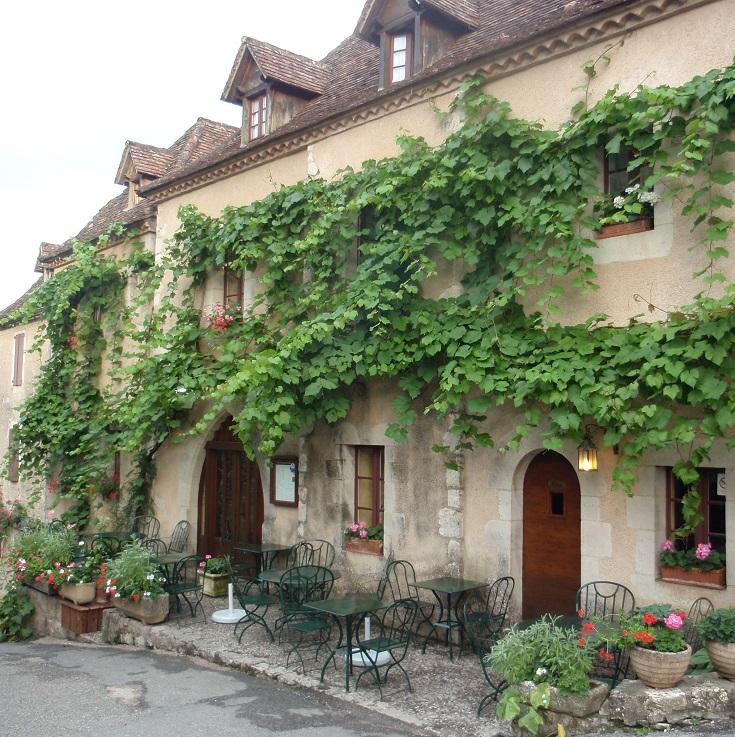 Saint-Cirq-Lapopie, GR36, France