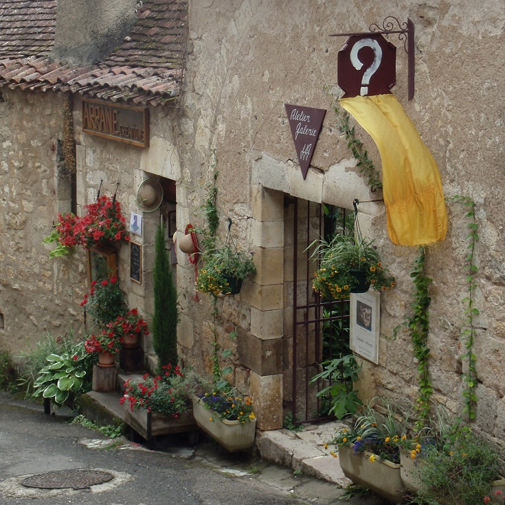 Arrane Creations, Saint-Cirq-Lapopie, GR36, France