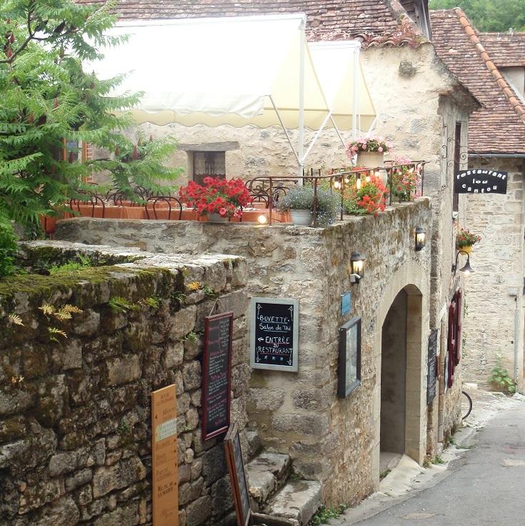 Lou Cantou, Saint-Cirq-Lapopie, GR36, France