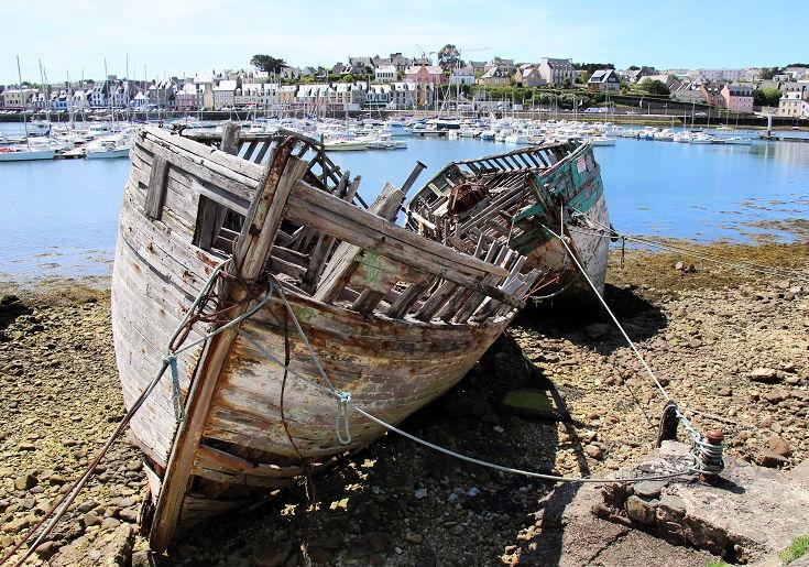 Cimetière des Bateaux, Camaret-sur-Mer, GR 34