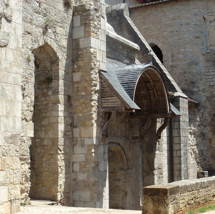 Abbaye de Saint-Pierre, Marcilhac-sur-Célé, Chemin de Saint-Jacques
