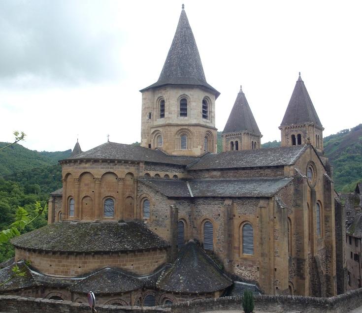 Abbaye de Sainte-Foy, Conques, GR65, France