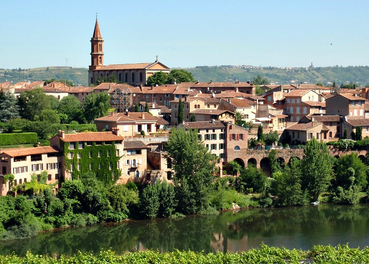 Albi - a day trip from Toulouse, France