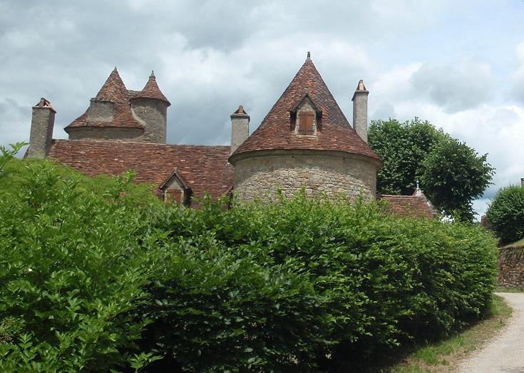 Autoire, GR 652, France