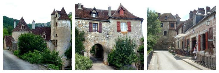 Autoire, Loubressac, Carennac, Martel to Rocamadour guidebook