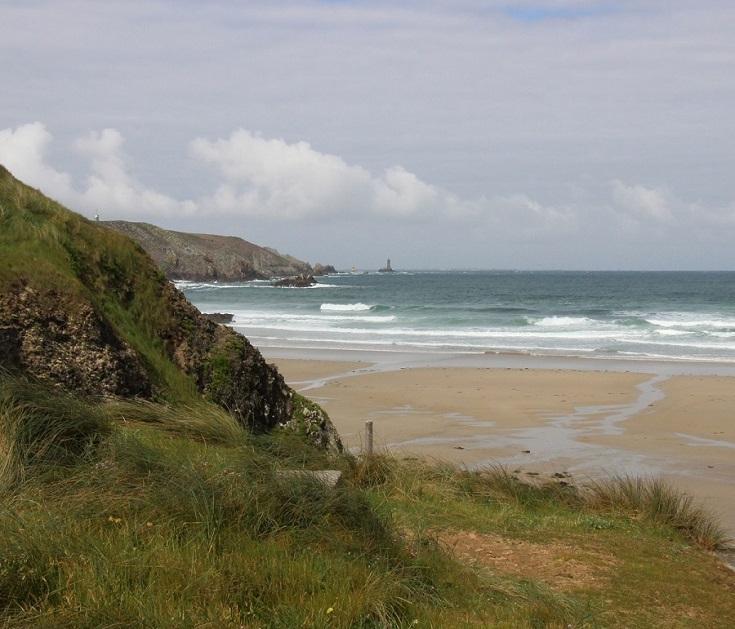 Baie des Trépassés, GR 34, Coast of Brittany, France
