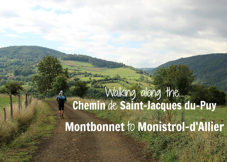 Between Rochegude and Monistrol-d'Allier, GR 65 France