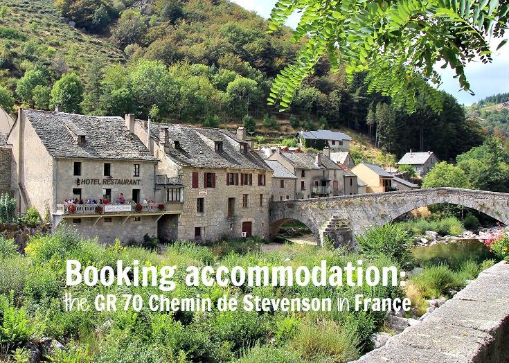 Booking accommodation on the GR 70 Chemin de Stevenson, France
