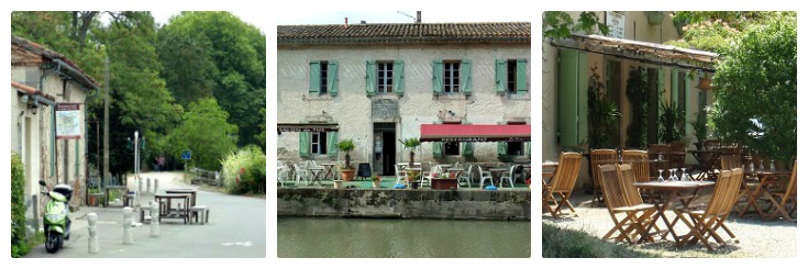 Cafés along the Midi Canal, Midi Canal guidebook