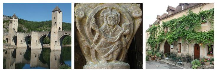 Cahors, Marcilhac, Saint-Cirq-Lapopie