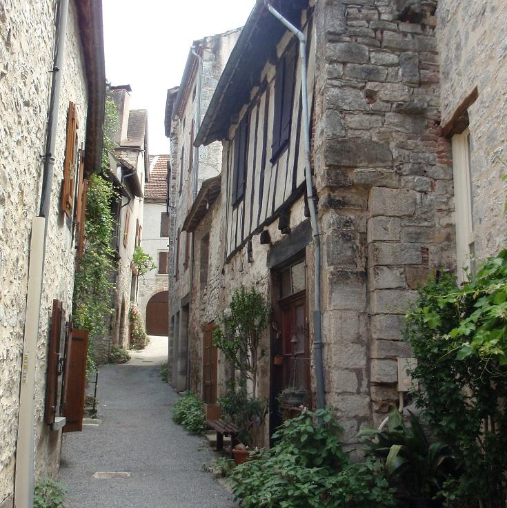 Cajarc, GR65, Chemin de Saint-Jacques, France