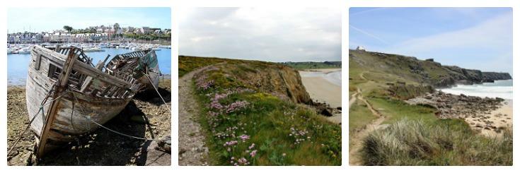 Camaret-sur-Mer, Plage de Kerloc'h, Anse de Pen Hat, Coast of Brittany guidebook