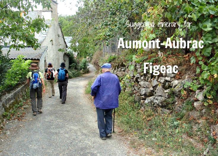 Aumont-Aubrac to Figeac, GR 65 variante, Chemin de Saint-Jacques, France