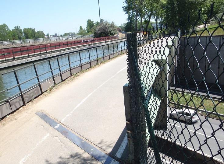 Canal-bridge, Midi Canal, Toulouse