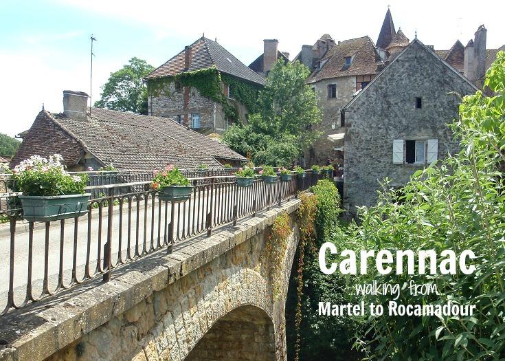 Carennac, GR652, France
