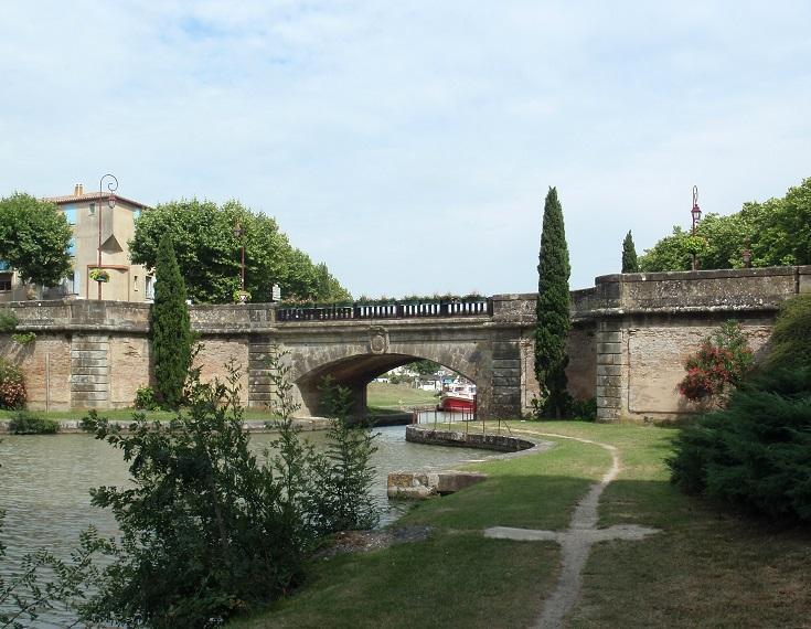 Castelnaudary, Midi Canal, France