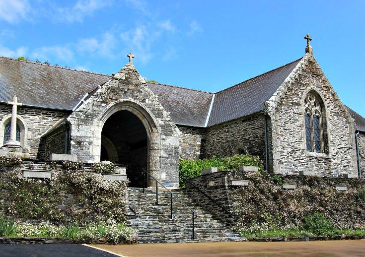 Caurel, Abbaye de Bon-Repos to Pontivy, France