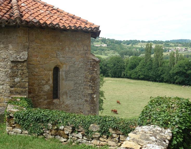 Chapel beside Château de Montal, Bretenoux, France