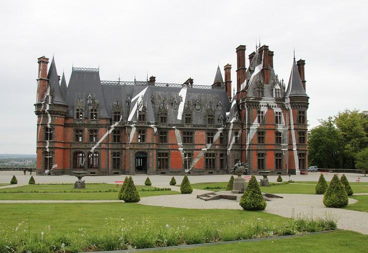 Château de Trévarez, Nantes à Brest Canal, Brittany, France