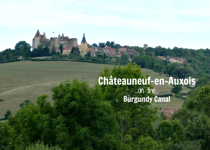 Châteauneuf-en-Auxois, Burgundy Canal, France