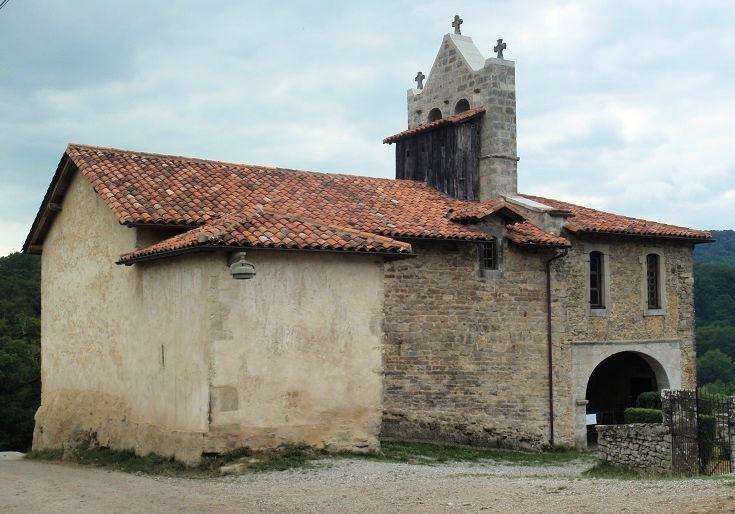 Exterior of Chapelle Saint-Nicolas, Harambeltz