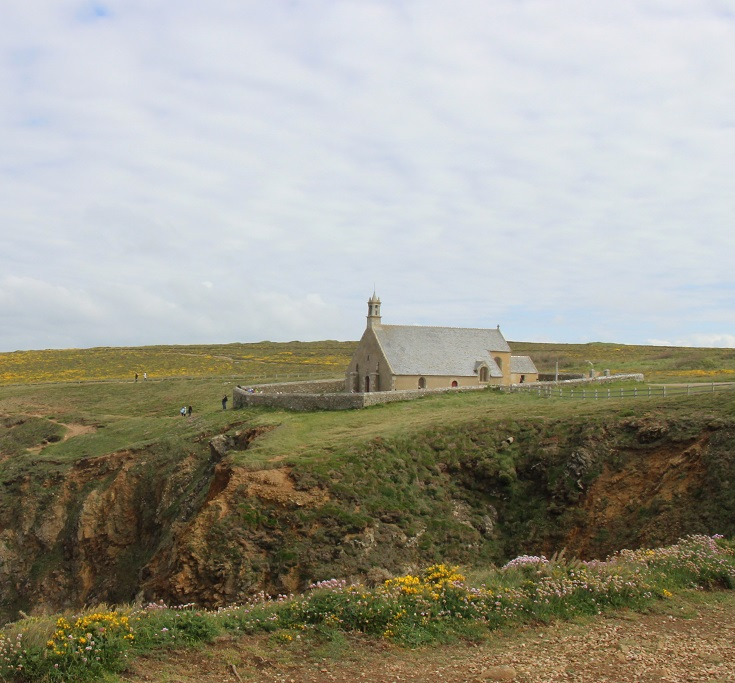 Chapelle de Saint-They, Pointe du Van, Brittany, France