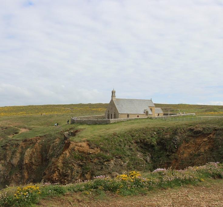 Chapelle de Saint-They, Pointe du Van, Brittany, France