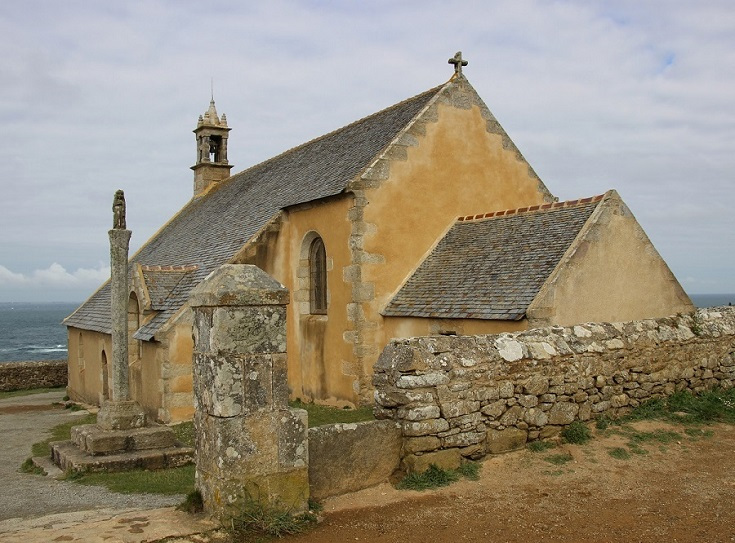 Chapelle de Saint-They, Pointe du Van, GR 34, Coast of Brittany, France