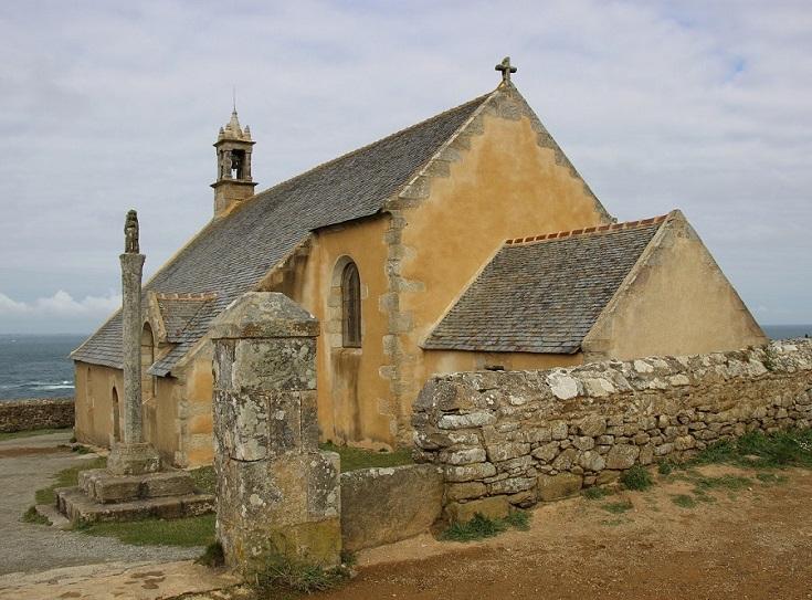 Chapelle de Saint-They, Pointe du Van, GR 34, Coast of Brittany, France