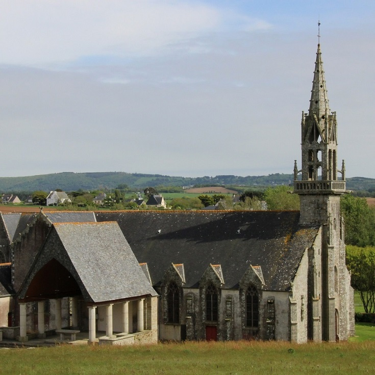 Chapelle de Sainte-Anne, Sainte-Anne la Palud, Coast of Brittany, France