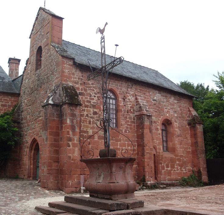 Chapelle des Pénitents, Collonges-la-Rouge, GR480, France