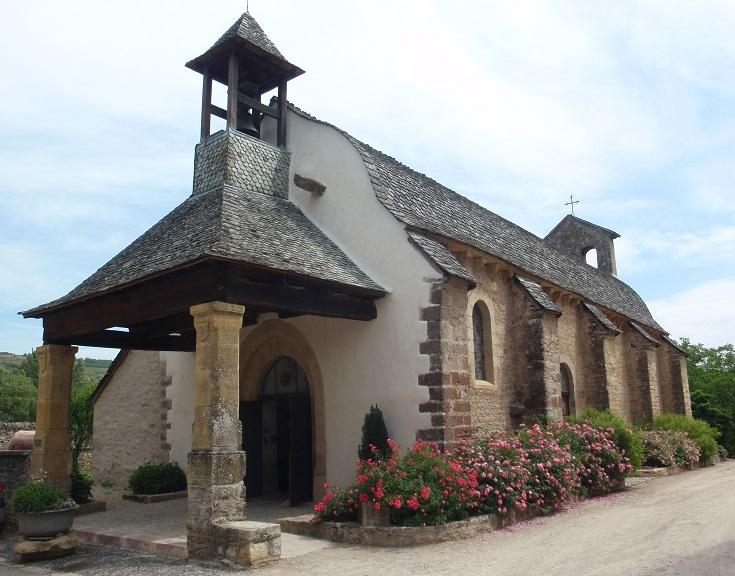 Chapelle des Penitents, Saint-Côme-d'Olt, GR 65, Chemin de Saint-Jacques, France