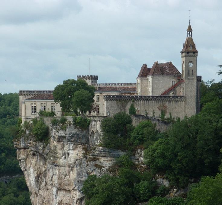 Chateau, Rocamadour, GR46 - GR652, France