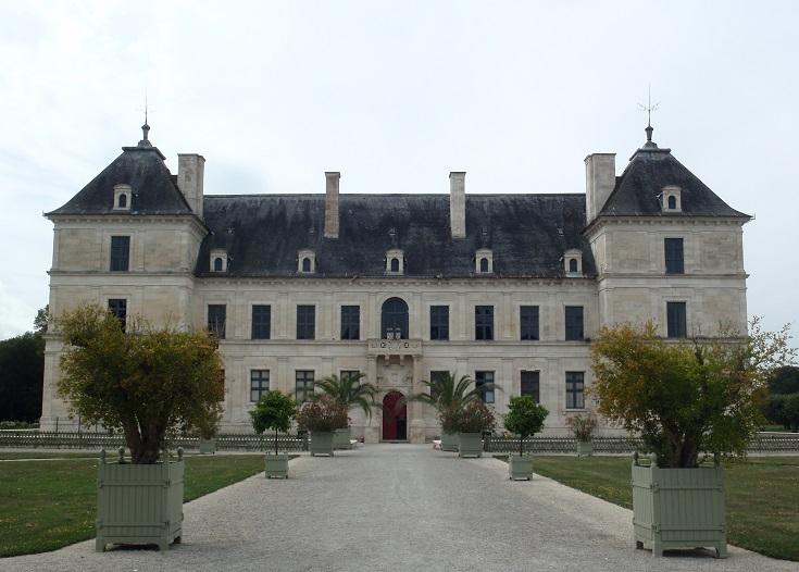 Chateau d'Ancy-le-Franc, Burgundy Canal, France