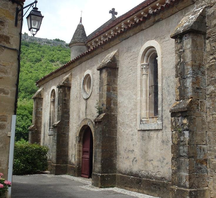 Church, Autoire, GR 652, France