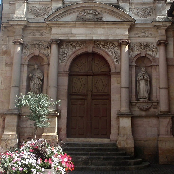 Church of the Carmelites, Place des Cordeliers, Dijon, Burgundy Canal, France