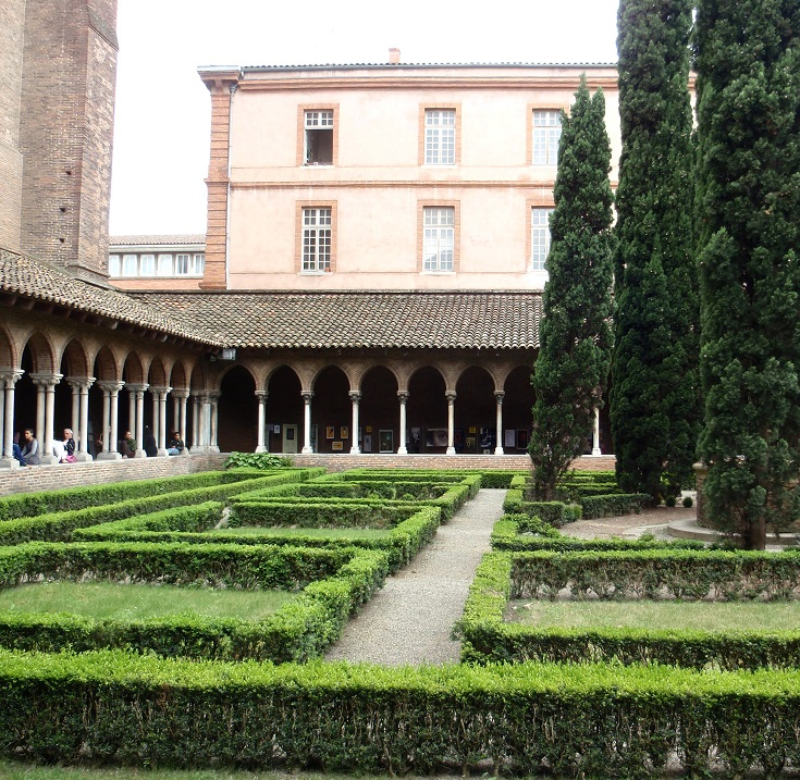 Cloister adjoining Les Jacobins, Toulouse