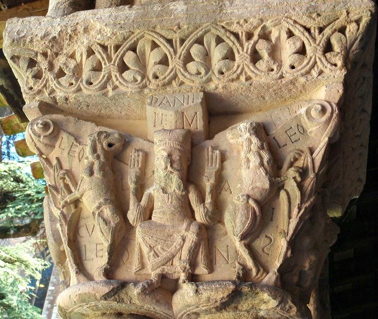 Cloister capitals, Moissac, GR 65, France