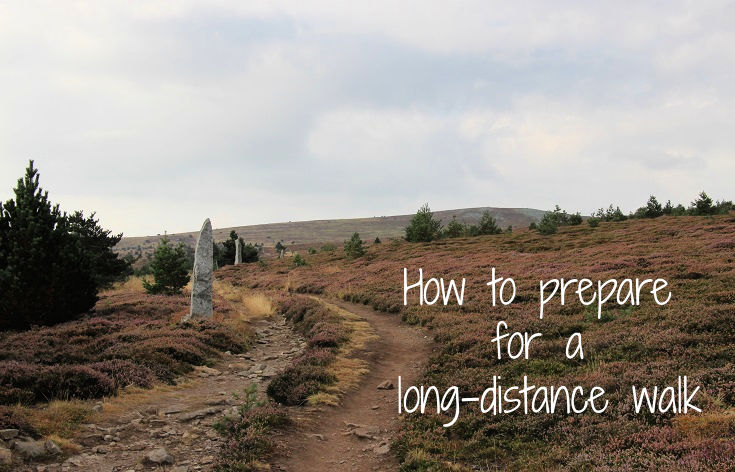Practical tips for long-distance walking - how to prepare