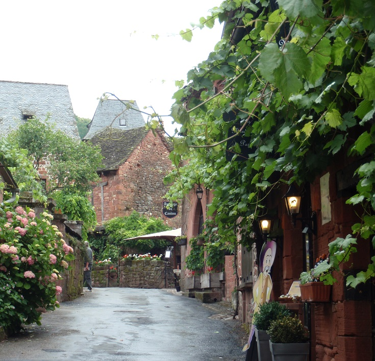 Collonges-la-Rouge, GR480, France