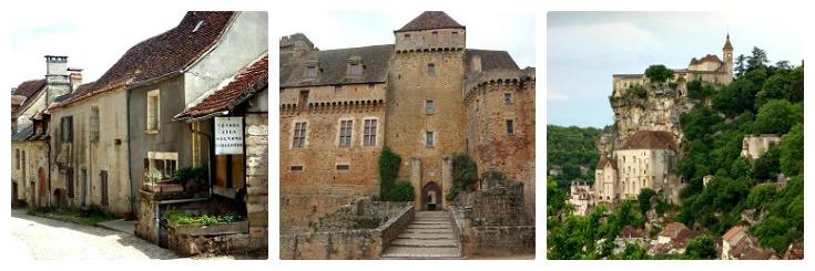 Curemonte, Bretenoux, Rocamadour, Martel to Rocamadour guidebook
