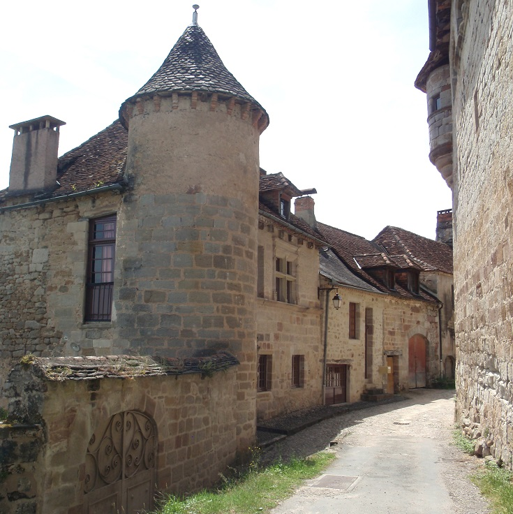 Curemonte, GR480, France