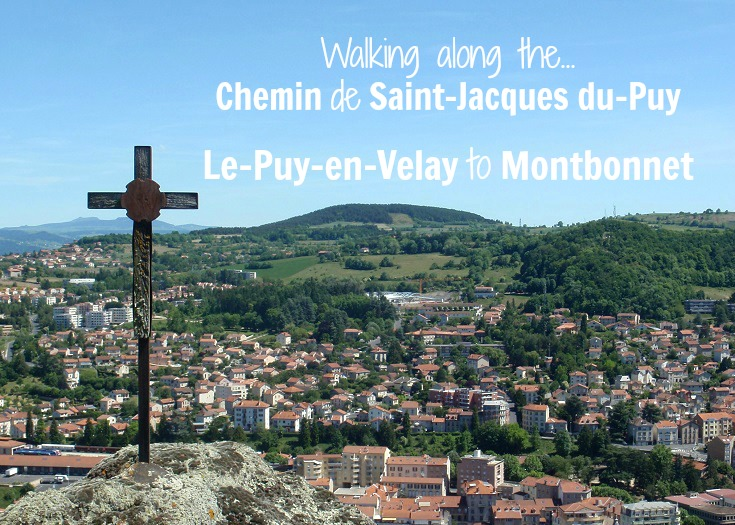 Day 1 Le-Puy-en-Velay to Montbonnet
