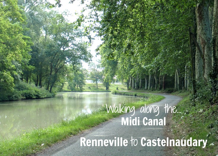 Day 3, Renneville to Castelnaudary, Midi Canal, France