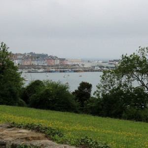 Walking along the GR34 – first views of Douarnenez