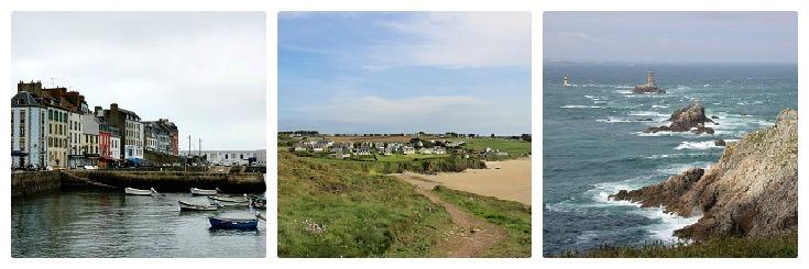 Douarnenez, Kervel, Pointe du Raz, Coast of Brittany guidebook
